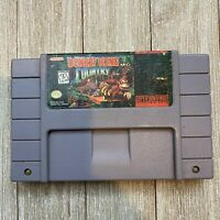 Donkey Kong Country (Super Nintendo Entertainment System, 1994) SNES [TESTED]