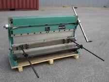 1000mm x 1mm 3-In-1 Sheet Metal Shear, Pan Brake Folder, Slip Roller Machine