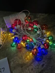 New Bethlehem Lights 14.5' Cluster Bulb Garland Light Strand Multicolor
