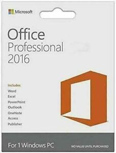 Microsoft Office professional Plus 2016 Download Link For Windows (1PC/1User)