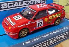 SCALEXTRIC 1/32 C3740 FORD SIERRA RS500, DICK JOHNSON & JOHN BOWE, #17, NIB