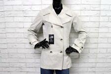 Giacca MARLBORO CLASSICS Donna Taglia M Donna in Lino Jacket Trench Cappotto Top