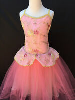 Dance Costume Ballet Tutu Child Medium or Large Pink by A Wish Come True