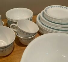 Corelle Blue Snowflake Garland Dinnerware Pieces Replacements Pyrex