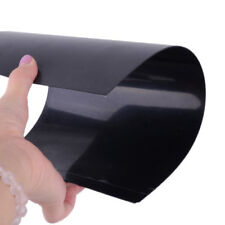 1 pcs ABS Styrene Plastic Flat Sheet Plate 1mm x 300mm x 200mm Black