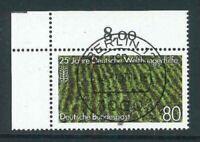 BRD Mi-Nr. 1345 zentrisch Berlin Vollstempel + Gummierung - Bogenecke / Ecke 1