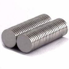 50 Stück N52 Starke Neodym Magnete 8x1mm Runde Scheiben Super Power Magneten