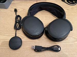 STEELSERIES Arctis 7 Lossless PS4 / PS5 PC 7.1 DTS Wireless Gaming Headset BLACK