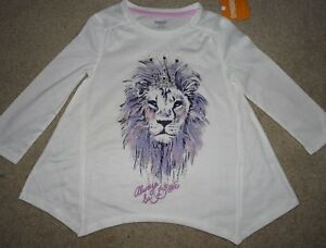 NEW GYMBOREE SIZE XS & S 4 5 6 FAIRYTALE FOREST LION SWING TOP TUNIC GLITTER