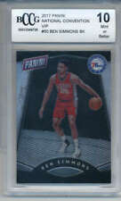 2017-18 Panini National Convention VIP Ben Simmons Rookie #50 PSA 10