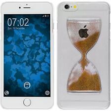 Hardcase für Apple iPhone 6 Plus / 6s Plus Hülle bronze Sanduhr + 2 Schutzfolien