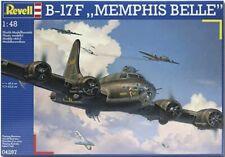 REVELL B-17F Memphis Belle 1:48 Aircraft Model Kit - 04297