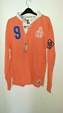 Superdry Valiant Rugby Shirt Bib Orange Size XL rrp £74.99 DH007 GG 12