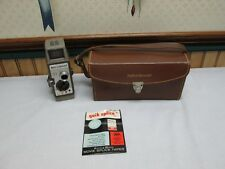 Vintage  Bell & Howell 323 10mm  f/2.3 SUPER COMAT  Movie Camera & Leather  Case
