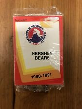 Hershey Bears AHL Procards Complete Team Set 1990-1991 Sealed Never Opened