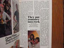 1971 TV Guide(KAREN CARPENTER/THE  CARPENTERS/DAN  BLOCKER/YOLANDA VELOZ/BONANZA