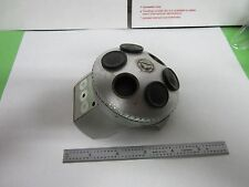 OPTICAL MICROSCOPE PART ZEISS GERMANY NOSEPIECE TURRET OPTICS BIN#H8-L-06