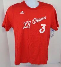 NBA Los Angeles Clippers Chris Paul Boys Adidas Tee T-Shirt, Red, XL (18) - New