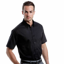 Kustom Kit Cotton Short Sleeve Men's Formal Shirts