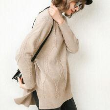 Высокое качество зимняя теплая женщина 100% кашемировый свитер вязаный пуловер водолазка