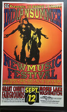 Indian summer New Music Festival poster C/Z Records Treepole Seaweed Neurosis
