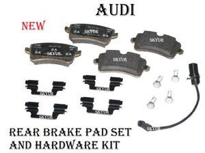 Audi A6 A7 A8 S7 S8 Rear Brake Pad Set With Sensor Genuine 4G0698451C