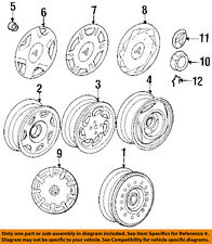 MITSUBISHI OEM 93-02 Mirage Wheel-Lug Nut 3880A008