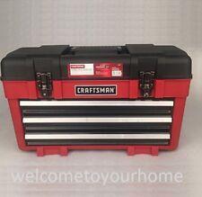 """Craftsman 23"""" Wide Portable Tool Chest Organizer Garage Storage Mechanic Box"""