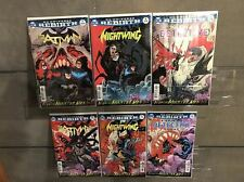 NIGHT OF THE MONSTER MEN #1 2 3 4 5 6 SET BATMAN NIGHT WING & DETECTIVE COMICS