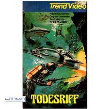 VHS Todesriff 1975 ITALO ACTION KLASSIKER Dagmar Lassander, Frederick Stafford