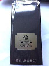 THE BODY SHOP-SWIETENIA FRESH  FLORA EAU DE PARFUM 50ML BRAND NEW SEALED £18