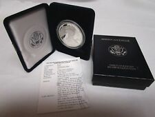 1994-P ***PROOF*** SILVER AMERICAN EAGLE WITH BOX & COA