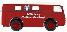 """Brekina 58305 Elektro-Paketwagen """"Kaiser's Café """" Von Starline"""