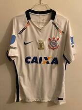 Maglia match worn indossata Corinthias brazil rare portè ronaldinho pelè Figo