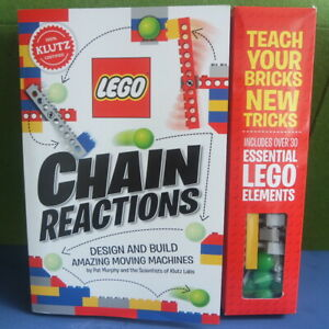 Lego Chain Reactions Book And Lego Bricks Set by Klutz NEW