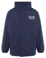 EA7 Junior Boys NavyPadded Jacket Aged 10-11 Years BNWT RRP £120