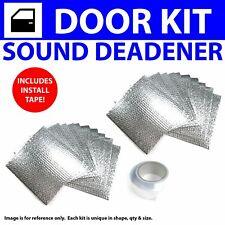 Heat & Sound Deadener Chevy Bel Air 1955 - 1957 4 Door Kit + Seam Tape 20286Cm2