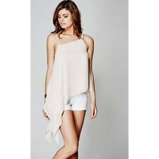 MARCIANO BY GUESS MELANIE TOP  SIZE SMALL  QUIET BLUSH
