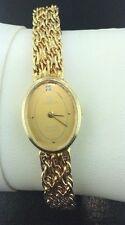 Lady's Vintage Omega wristwatch, 14k yellow gold, quartz, 26 grams