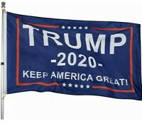 Trump 2020 Keep America Great President Donald MAGA 3x5 Flag Republican Flag HQ