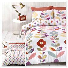 Rapport Lulu Floral Spotty Reversible Duvet Cover Bedding Set Multi