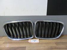 NIEREN Original + BMW X1 E84 + Grill Kühlergrill links rechts + chrom / schwarz