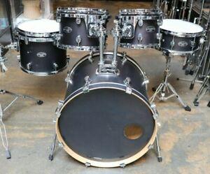 Pacific 5pc FS Series Drum Set Ebony Satin