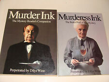 Murder Ink and Murderess Ink by Dilys Winn 1977 & 1979 Mystery Readers Companion