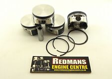 Ford Mondeo Mk3 1.8 Duratec pistons x4 set 83mm bore volvo s40 pistons