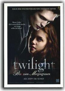 TWILIGHT ♦ BISS ZUM MORGENGRAUEN ♦ 2008 ♦ CINEMA Filmkarte ♦ Kristen Stewart
