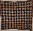 African Künstlerteppich Raffia Embroidery Shoowa