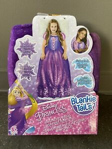Disney Princess RAPUNZEL DRESS WEARABLE BLANKET Dress Blankie Tails Throw NIB