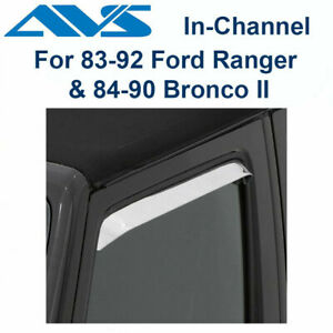 AVS Ford Ranger Bronco II - 12071 Rain Guards Window Vent Visor 2Pc 1983-1992