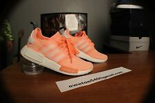 Adidas NMD R1 Runner Sun Glow Pink Peach BY3034 Boost Women's SZ 8 NEW